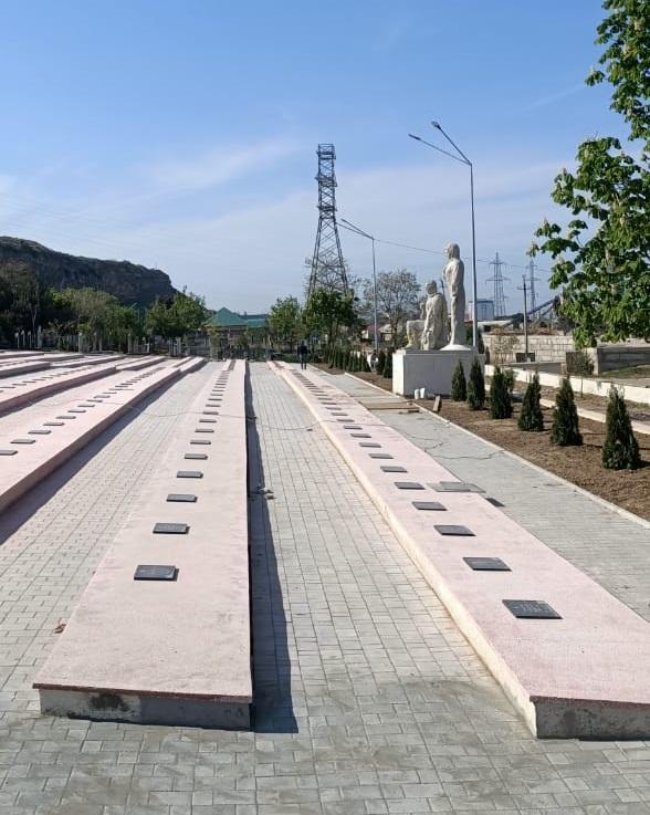 Дербент Мемориал ВОВ.